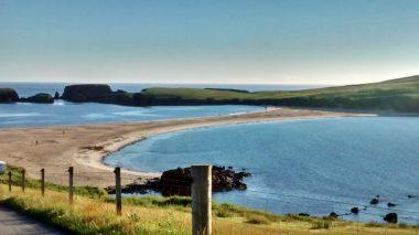 Beach at St Ninian's Isle