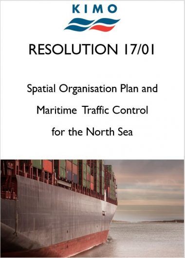 KIMO Resolution 17/01 - Spatial Organisation Plan and Maritime Traffic Control for the North Sea