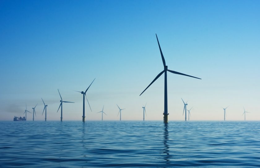 Offshore windfarm providing offshore energy