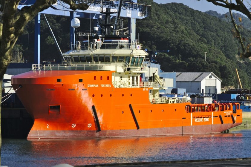 An Emergency Towing Vessel - the Grampian Fortress